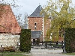 Vestige de l'Abbaye de Fervaques (bâtiment agricole).jpg