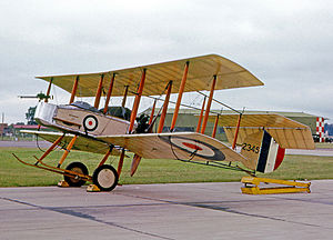 Vickers F.B.5 - Airworthy Gunbus replica built in 1966 and painted in RFC colours