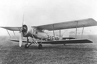 Vickers Vespa - The Vickers Vespa VII which reached a world altitude record
