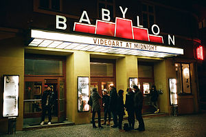 Videoart at Midnight - Videoart at Midnight at Kino Babylon
