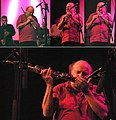 Vienna 2010-09-03 - Porgy&Bess Jazzclub - Reform Art Orchestra 'Subway Art' performance. Fritz Novotny sequence.jpg