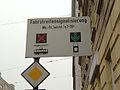 Vienna Transit Priority Schlachthausgasse sign (12205731845).jpg