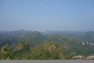 Cát Bà Island - View from Ngu Lam Peak, Cat Ba National Park