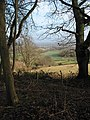 View from the footpath below Broad Down - geograph.org.uk - 649969.jpg