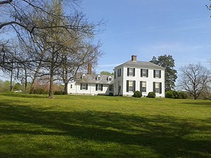 National Register of Historic Places listings in Amelia County, Virginia - Image: View of Dykeland house