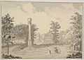 View of Naesse castle and De Coninck's Column from the East MET DP830540.jpg