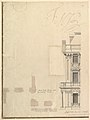 Views of a Theater (Bayreuth)- Profile View of Facade and Half of the Plan MET DP820186.jpg