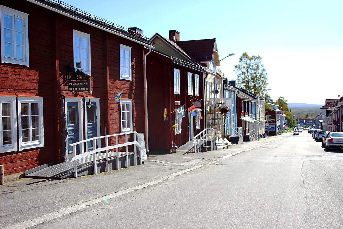 Vilhelmina to Jokkmokk - 2 ways to travel via train, bus, and car