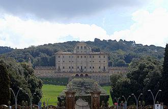 Villa Aldobrandini - The façade of Villa Aldobrandini.