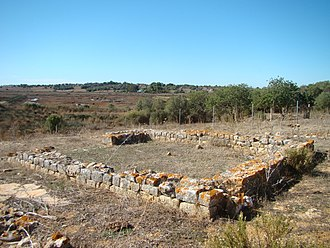 Mexilhoeira Grande - The Roman era ruins of Quinta da Abicada