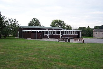 Jacobs Well, Surrey - Image: Village Hall at Jacobs Well geograph.org.uk 52889