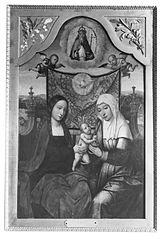 Sainte Anne, la Sainte Vierge et l'Enfant Jésus