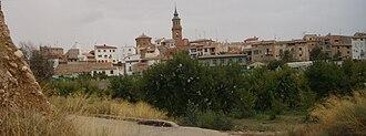 Calanda, Spain - Image: Vista parcial de Calanda