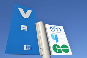 "Viva Rapid Transit - By entering the ""Bus Stop Number"" to the RideNow webpage, riders can check vehicle arrival information via the Internet, or the YRT Information Line."