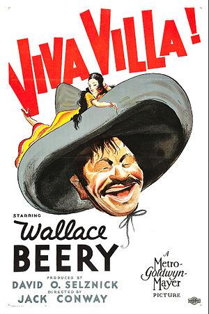 Viva Villa! - Film poster