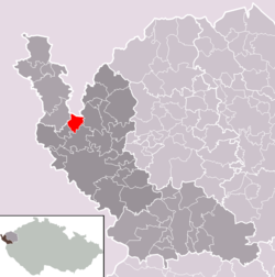 Location of Vojtanov