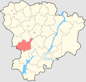 Kletsky District - Image: Volgogradskaya oblast Kletsky rayon