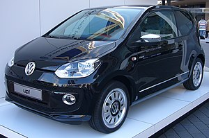 English: Volkswagen up! Black at IAA Frankfurt...