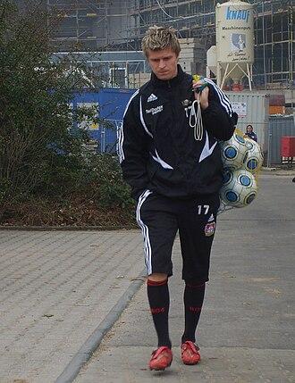 Vratislav Greško - Greško with Bayer Leverkusen in 2009