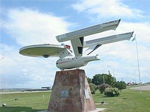 USS Enterprise (NCC-1701-A) - Replica of Enterprise-A in Vulcan, Alberta
