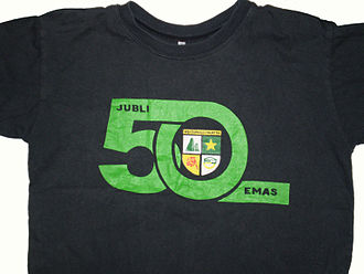 Bukit Bintang Boys' Secondary School - 50th Anniversary T-shirt