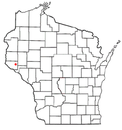 Location of Rock Elm, Wisconsin