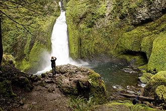 Wahclella Falls - Wahclella Falls