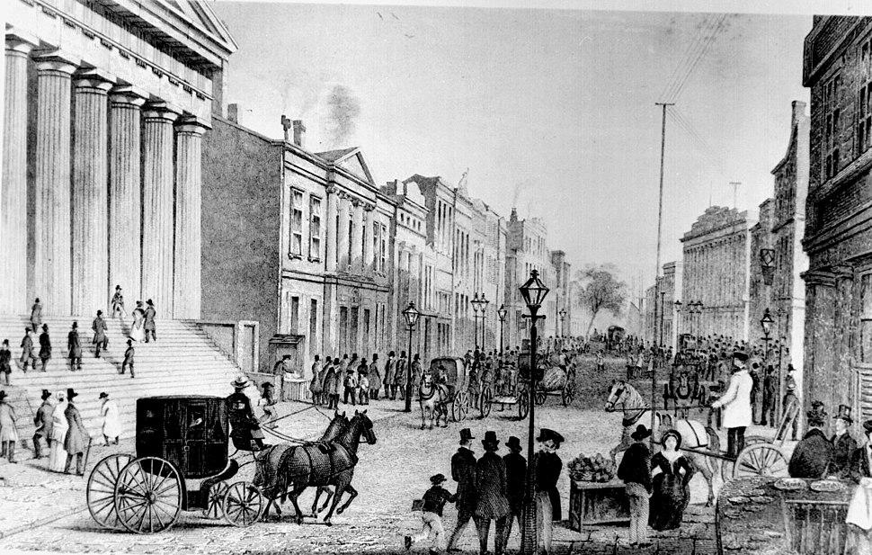 Wall street 1867