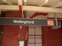 Wallingford SEPTA Station sign.jpg