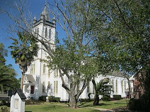 Wallis, Texas - Image: Wallis TX Guardian Angel Church