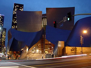 Bunker Hill, Los Angeles - Walt Disney Concert Hall, Bunker Hill