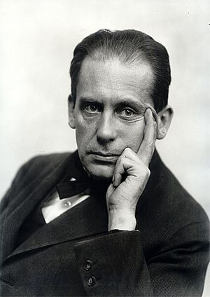 Walter Gropius - Walter Gropius (circa 1919). Photo by Louis Held
