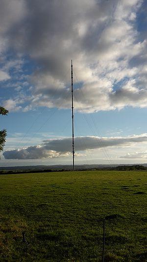 Waltham transmitting station - BBC Waltham on the Wolds transmitter, near Melton Mowbray,  Leicestershire,  England