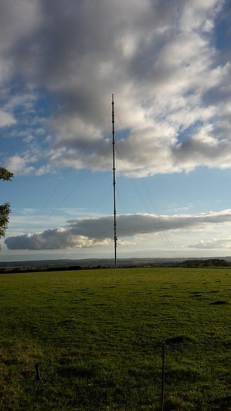 Waltham transmitting station - BBC Waltham on the Wolds transmitter, near Melton Mowbray,  Leicestershire,  England