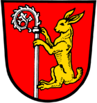Das Wappen von Herrieden