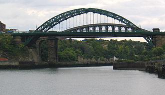 A183 road (England) - Wearmouth Bridge