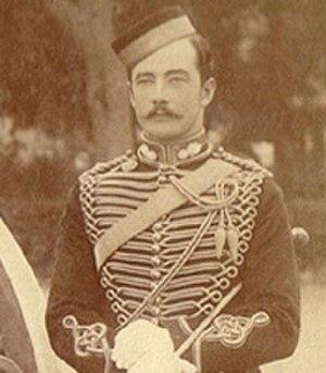 Webb Gillman - Lieutenant Webb Gillman c.1896