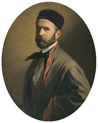 Henrik Weber - Self-portrait (c.1855)