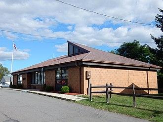 Shenandoah Heights, Pennsylvania - Image: West Mahanoy Twp Hall, Schuylkill Co PA