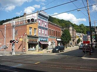 West Newton, Pennsylvania - East Main Street