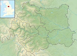 Kirkthorpe Hydro dam in Kirkthorpe, Wakefield