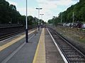 Weybridge station bay look west3.JPG