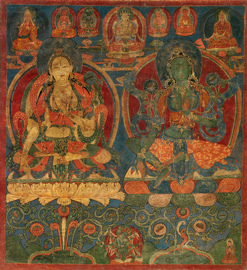 White Tara and Green Tara.jpg