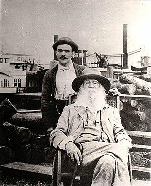 Men in nursing - Walt Whitman and his male nurse Fritzenger (July 1890)