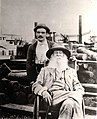 Whitman, Walt (1819-1892) and his male nurse Fritzenger..JPG
