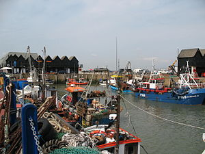 Whitstable - Image: Whitstable Harbour, Kent, UK