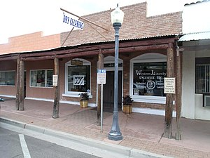 Old Brick Post Office (Wickenburg, Arizona) - Image: Wickenburg Old Brick Post Office