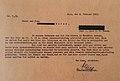 Wien - Steinhof - Brief an die Eltern eines in der sog Kinderfachabteilung ermordeten Kindes.jpg