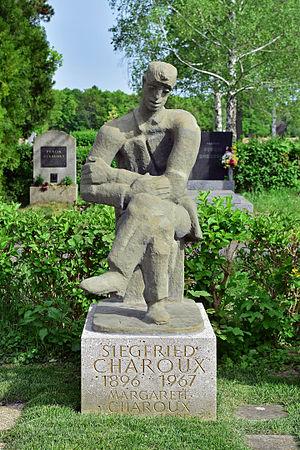Siegfried Charoux - Memorial to Charoux at Vienna's Central Cemetery (Zentralfriedhof)