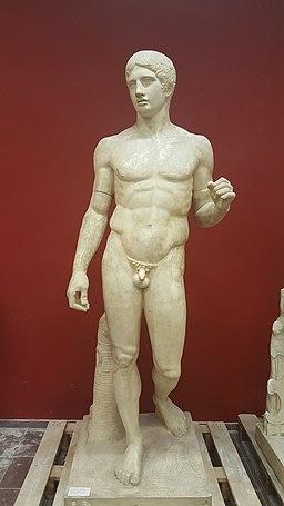 Wiki Loves Art - Bruxelles - Musée du Cinquantenaire - Atelier de moulage - Doryphoros